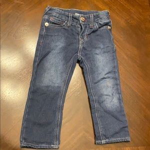 Real True Religion toddler boy jeans